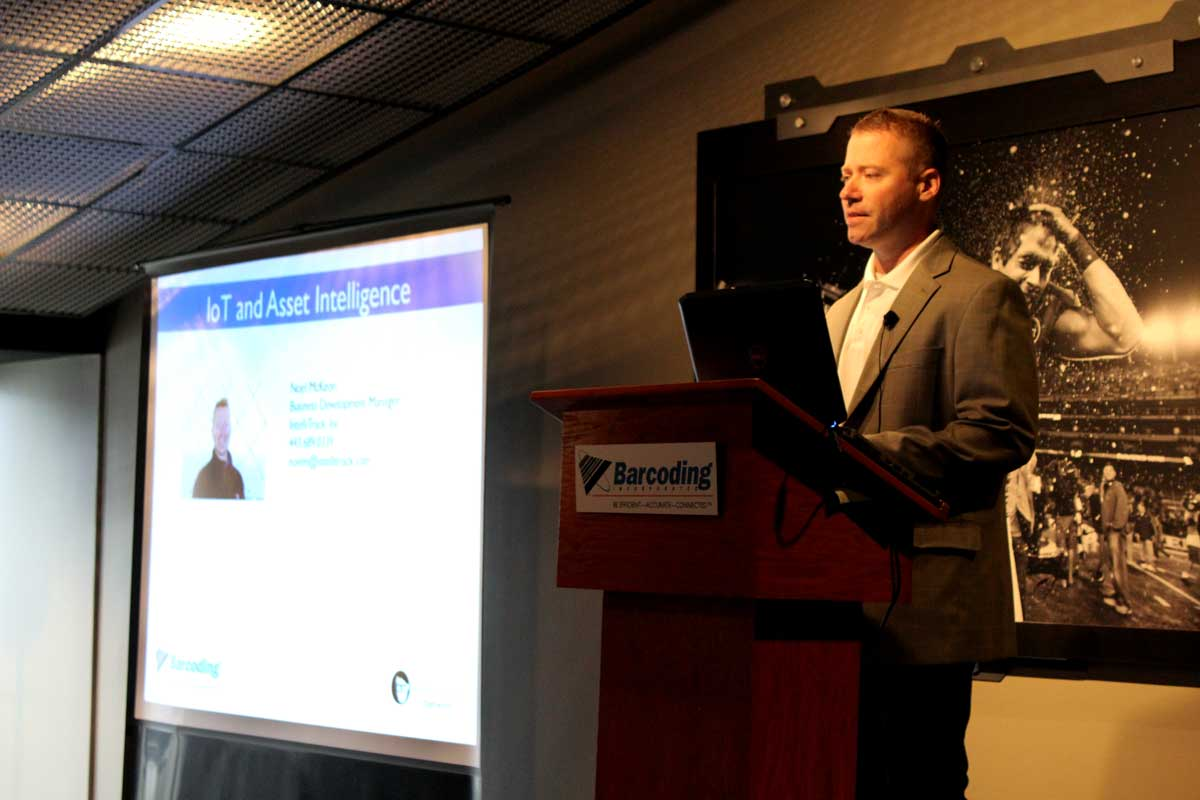 IntelliTrack® Presents at 7th Annual Barcoding Executive Forum